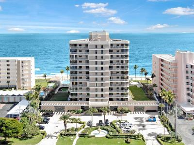 Highland Beach Condo For Sale: 2917 S Ocean Boulevard #604