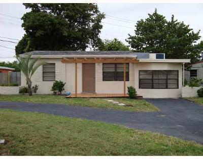 Pompano Beach Single Family Home For Sale: 2770 NE 13th Terrace