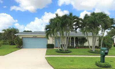 Delray Beach Single Family Home For Sale: 14737 Sunny Waters Lane