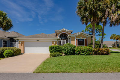 Port Saint Lucie Single Family Home For Sale: 585 NW Montevina Drive