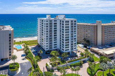 Highland Beach Condo For Sale: 3015 S Ocean Boulevard #901