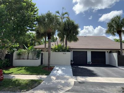 Delray Beach Townhouse For Sale: 406 SW 29th Avenue
