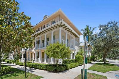 Jupiter Townhouse For Sale: 4344 Blowing Point Place