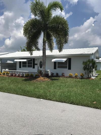 Boynton Beach Single Family Home For Sale: 813 SW 7th Avenue