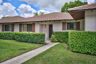 Palm Beach Gardens Single Family Home For Sale: 107 Club Drive