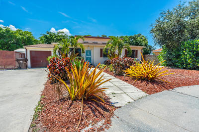 West Palm Beach Single Family Home For Sale: 5405 Mesa Trail