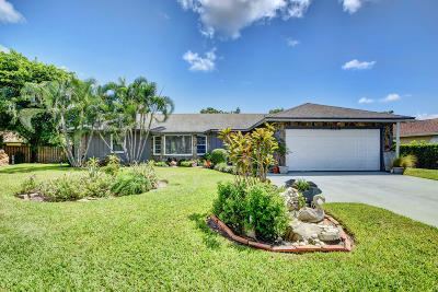 West Palm Beach Single Family Home For Sale: 4108 Shelley Road S