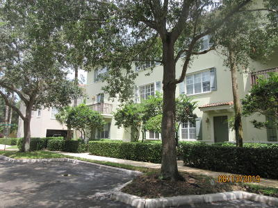 Jupiter Townhouse For Sale: 149 Apalachee Lane