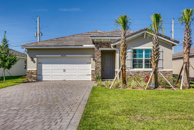 Palm City Single Family Home For Sale: 3470 SW Blackberry Lane