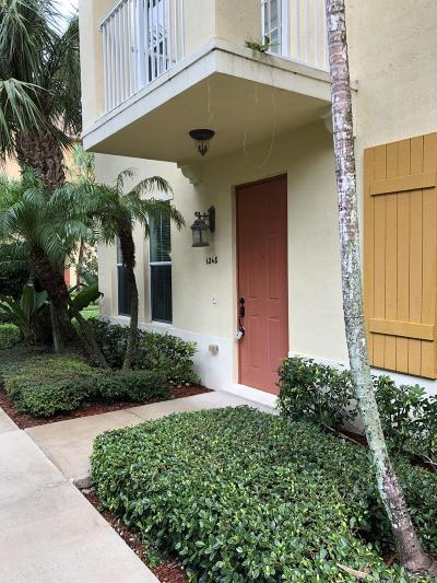 Boynton Beach Townhouse For Sale: 1248 Via Fatini