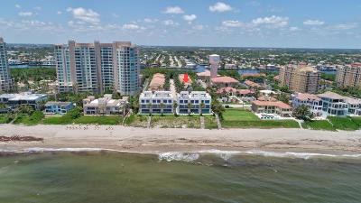 Highland Beach Single Family Home For Sale: 3626 S Ocean Boulevard