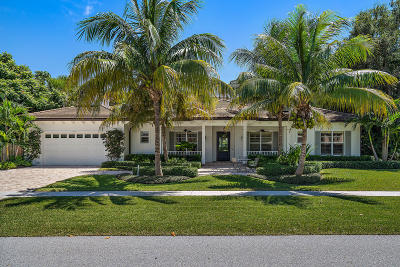 North Palm Beach Single Family Home For Sale: 11724 Landing Place