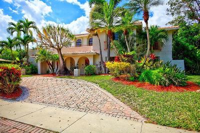 Boca Raton Single Family Home For Sale: 6965 Grande Drive