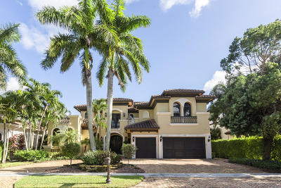 Boca Raton Single Family Home For Sale: 17690 Middlebrook Way