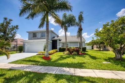 Boynton Beach Single Family Home For Sale: 9075 Cavatina Place