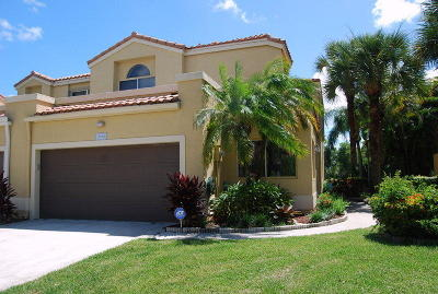 Boca Raton Single Family Home For Sale: 10540 Lake Vista Circle