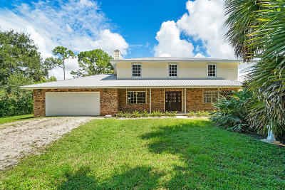 Royal Palm Beach Single Family Home For Sale: 11127 52nd Road