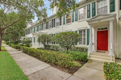 Jupiter Townhouse For Sale: 231 Murray Court
