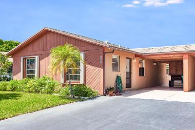 boynton beach Single Family Home For Sale: 2653 SE 28th Circle