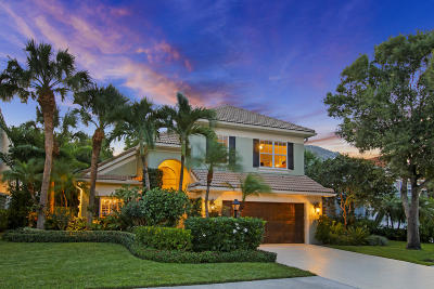Palm Beach Gardens Single Family Home For Sale: 114 Princewood Lane
