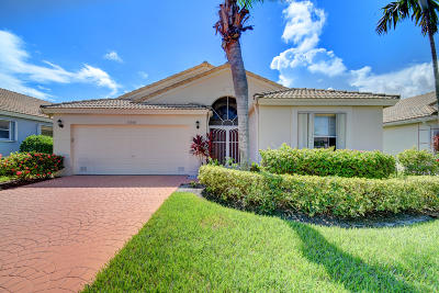 Boynton Beach Single Family Home For Sale: 12668 Coral Lakes Drive