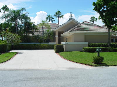 Palm Beach Gardens Single Family Home For Sale: 138 Coventry Place