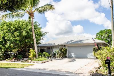 Lantana Single Family Home For Sale: 1314 Caribbean Way