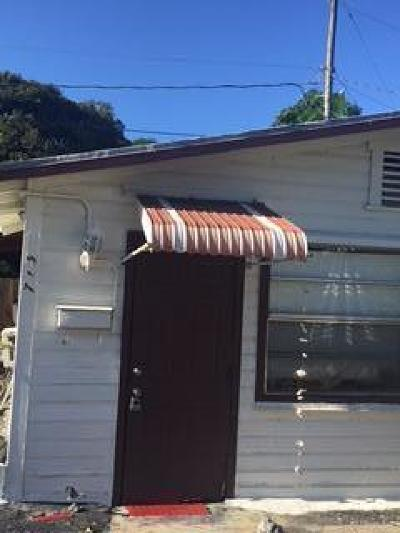 West Palm Beach Single Family Home For Sale: 715 Tuscaloosa Street