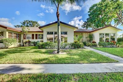 delray beach Single Family Home For Sale: 5270 Nesting Way #C