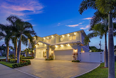 North Palm Beach Single Family Home For Sale: 713 Sandpiper Way