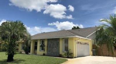 Stuart Single Family Home For Sale: 3141 SE Bedford Street