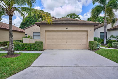Palm Beach Gardens Townhouse For Sale: 48 Ironwood Way