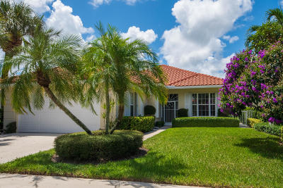 Palm Beach Gardens Single Family Home For Sale: 617 Rosa Court