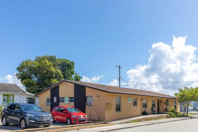 Lake Worth Multi Family Home For Sale: 502 H Street
