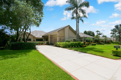 Palm Beach Gardens Single Family Home Contingent: 120 Coventry Place