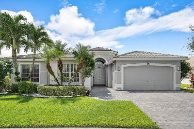 Boynton Beach Single Family Home For Sale: 11661 Pamplona Boulevard