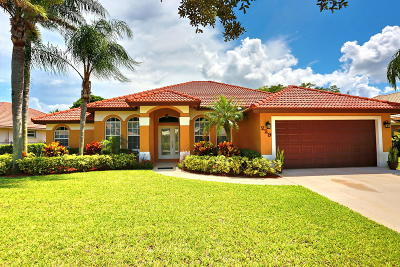 Royal Palm Beach Single Family Home For Sale: 229 Cypress Trace