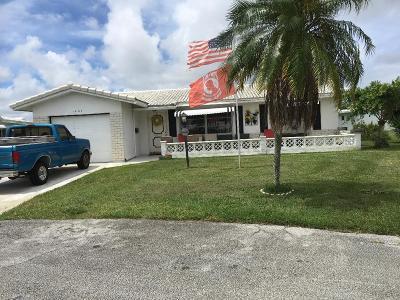 Boynton Beach Single Family Home For Sale: 1407 SW 22nd Avenue