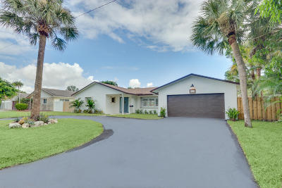 Boca Raton Single Family Home For Sale: 833 NW 6th Terrace