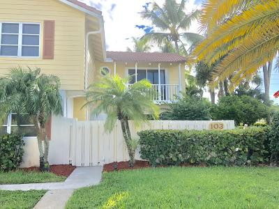 Jupiter Single Family Home For Sale: 103 Seabreeze Circle