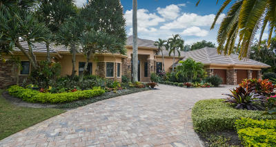 Boca Raton Single Family Home For Sale: 17938 Lake Estates Drive