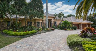 Boca Raton Single Family Home For Sale: 17938 Lake Estates Drive