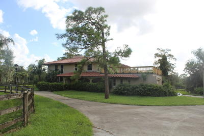 Loxahatchee Single Family Home For Sale: 2317 Fawn Drive