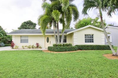 Lake Worth Single Family Home For Sale: 4821 Poseidon Place