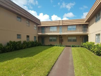 Delray Beach Condo For Sale: 269 Flanders F