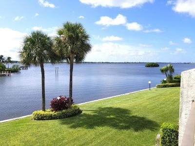 Palm Beach Townhouse For Sale: 3474 S Ocean Boulevard #0060