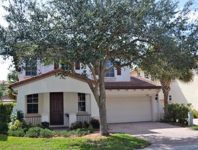 Palm Beach Gardens Single Family Home For Sale: 321 September Street