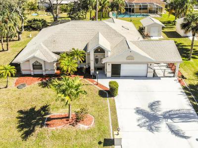 Port Saint Lucie Single Family Home For Sale: 2331 SW Blaine Terrace