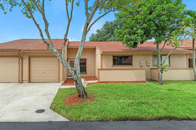 Boynton Beach FL Single Family Home For Sale: $214,900