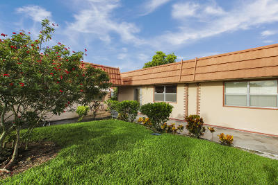 Delray Beach FL Single Family Home For Sale: $118,500
